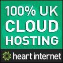 JM Web Design recommends Heart Internet